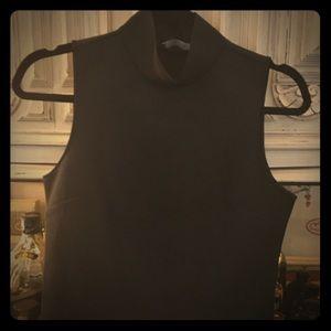 Zara mock neck tank size M